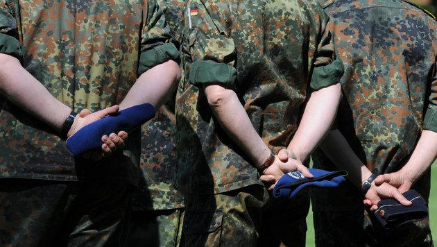 D: Skandal um Misshandlungen in Elite-Kaserne (Bild: AFP)