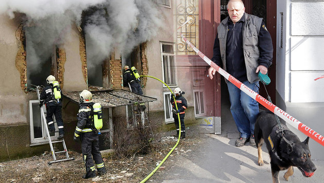 Gasexplosion: Nachbarn glauben an tödlichen Plan (Bild: APA/MA 68, Klemens Groh)