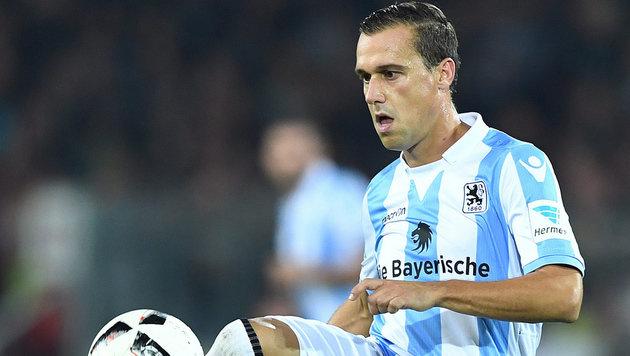 Michael Liendl rutscht mit 1860 München weiter ab (Bild: GEPA)