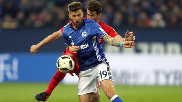 Schalke 04 verliert trotz bärenstarkem Burgstaller (Bild: AFP)