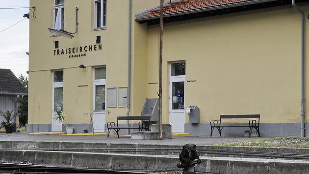 Der Bahnhof im niederösterreichischen Traiskirchen (Bild: APA/ANDREAS PESSENLEHNER)