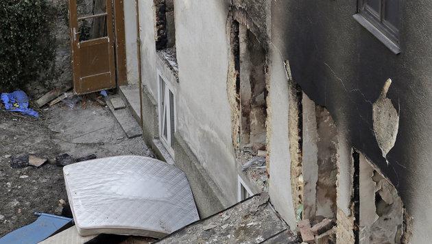 Ein Bild der Zerstörung nach der Gasexplosion in Wien-Hernals (Bild: Klemens Groh)
