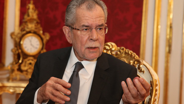 Bundespräsident Alexander Van der Bellen (Bild: Zwefo)
