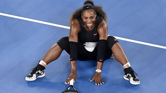 Serena Williams gewinnt ihren 23. Grand-Slam-Titel (Bild: AP)