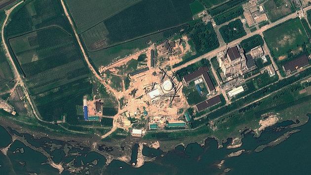 Die Satellitenaufnahme aus dem Jahr 2012 zeigt das Nuklearzentrum Yongbyon. (Bild: ASSOCIATED PRESS)