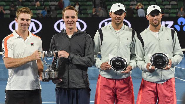 Australian Open: Kein Rekordtitel für Bryan-Brüder (Bild: AFP)