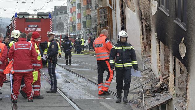 Explosion in Wien: Gasversorgung war manipuliert (Bild: APA/HANS PUNZ, Klemens Groh)