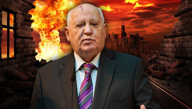 """Gorbatschow: """"Welt bereitet sich auf Krieg vor"""" (Bild: AFP/Odd Andersen, thinkstockphotos.de)"""