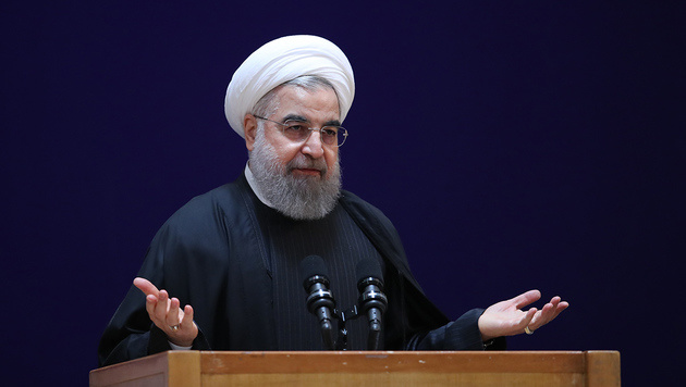 Der iranische Staatschef Hassan Rouhani (Bild: AFP)