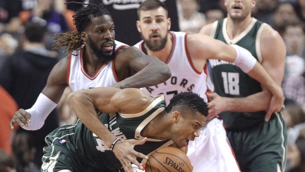 NBA: Toronto beendet ohne Jakob Pöltl Negativserie (Bild: AP)