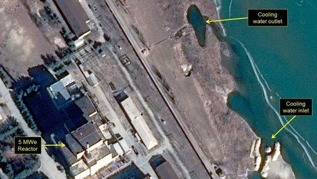 Ein neues Satellitenbild vom umstrittenen nordkoreanischen Nuklearzentrum Yongbyon (Bild: 38north.org)