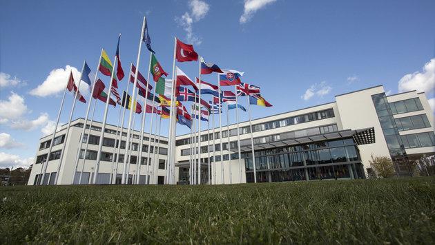 Das NATO-Hauptquartier im pfälzischen Ramstein (Bild: NATO)