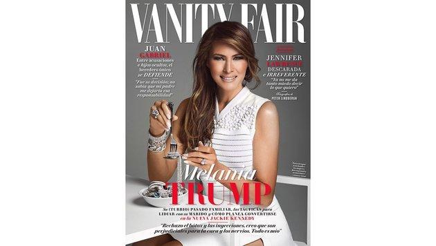 """Das Cover der Mexiko-Ausgabe der """"Vanity Fair"""" (Bild: Vanity Fair)"""