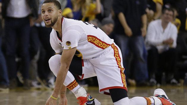 43 Punkte von NBA-Ass Curry beflügeln Golden State (Bild: AP)