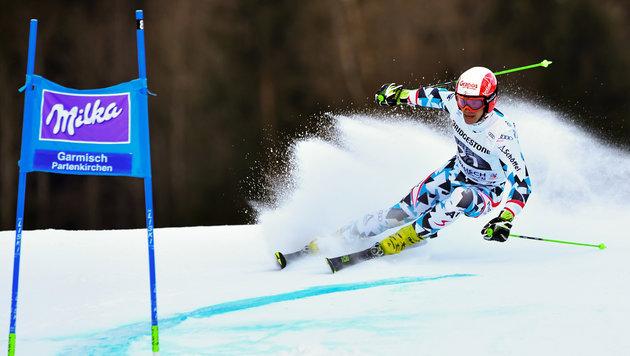 Hirscher gewinnt mit Husarenritt in Garmisch (Bild: GEPA)
