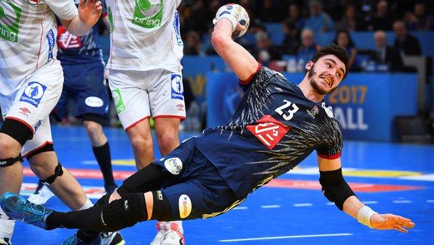 Frankreich setzt sich WM-Krone im Handball auf (Bild: AFP or licensors)