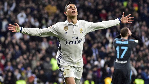Real Madrid feiert 3:0 und zieht in Tabelle davon (Bild: AFP or licensors)