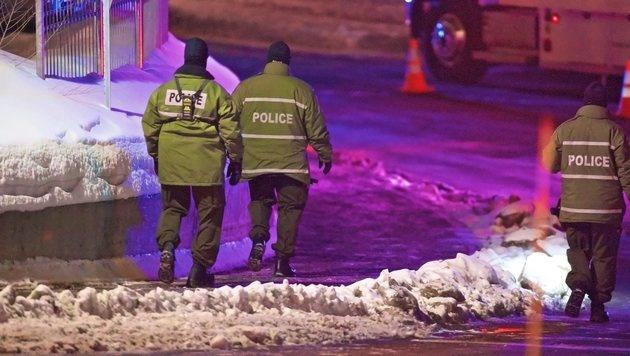 Quebec: Rätselraten nach Anschlag auf Moschee (Bild: EPA)