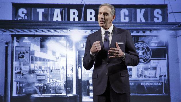 Starbucks-Chef Howard Schultz (Bild: AP)
