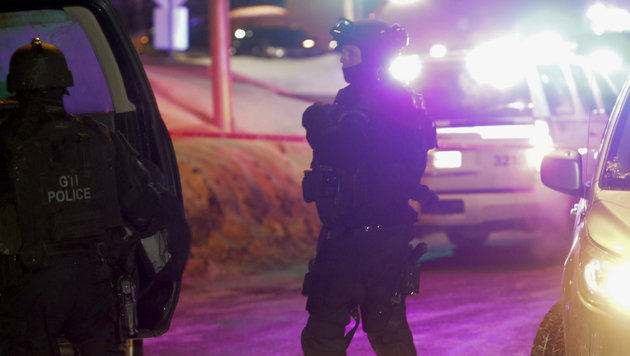 "Kanada-Terroranschlag: Täter rief ""Allahu Akbar"" (Bild: Associated Press)"