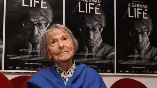 Goebbels-Sekretärin mit 106 Jahren gestorben