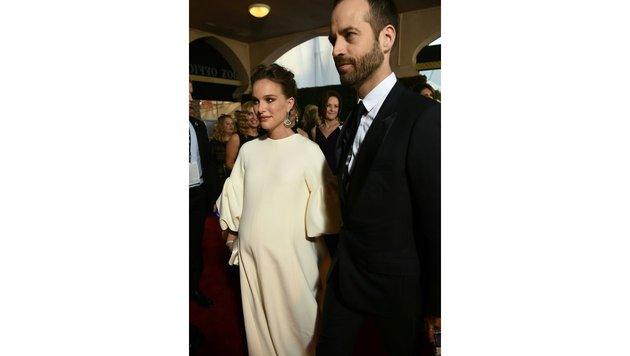 Natalie Portman mit Ehemann Benjamin Millepied (Bild: AFP)