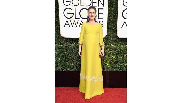 Natalie Portman bei den Golden Globes (Bild: AFP)