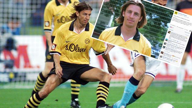 Dortmund hat Wolfgang Feiersinger nicht vergessen (Bild: APA/DPA/JAN NIENHEYSEN, Facebook.com)