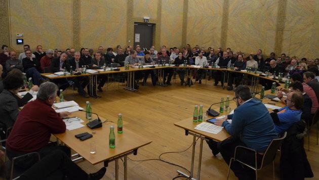 Symbolbild Gemeinderat (Bild: Jakob Traby)