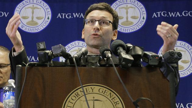 Washingtons Justizminister Bob Ferguson (Bild: AP)