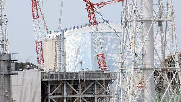 Die Reaktoren 1 und 2 in Fukushima (Bild: AFP/Tomohiro Ohsumi)