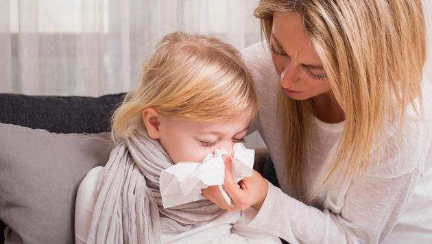 Immer mehr allergische Kinder (Bild: thinkstockphotos.de)