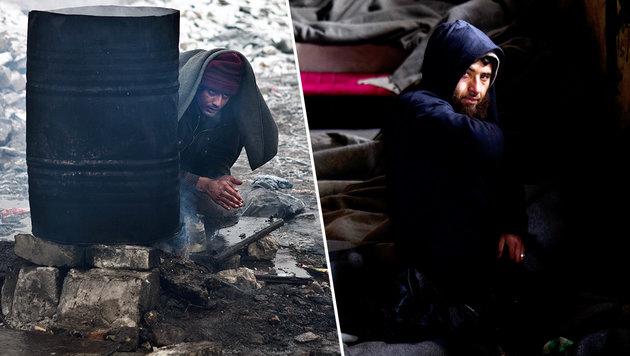 Schock-Szenen am Balkan: Organe als Zahlungsmittel (Bild: AP)