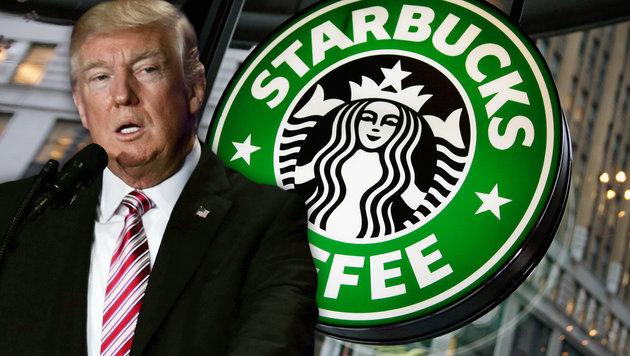 Starbucks stellt jetzt 10.000 Flüchtlinge ein (Bild: APA/AFP/ALEX WONG, AP)