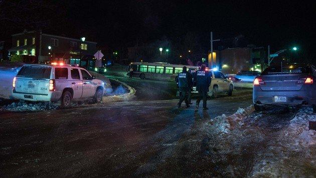 """Kanada-Terroranschlag: Täter rief """"Allahu Akbar"""" (Bild: AFP/Alice Chiche)"""