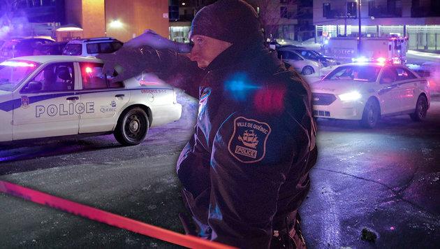 "Kanada-Terroranschlag: Täter rief ""Allahu Akbar"" (Bild: AP)"
