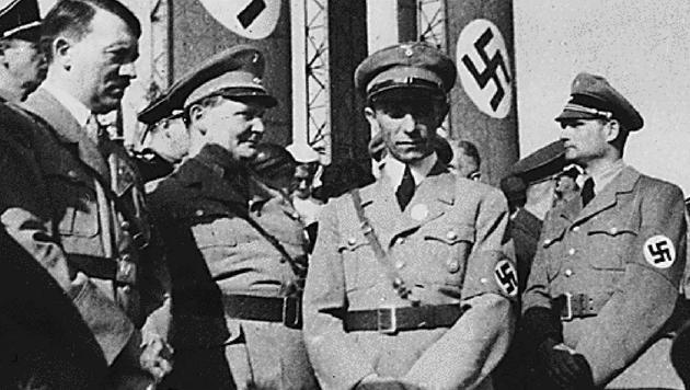 Hitler, Göring, Goebbels und Heß (v.l.n.r.) (Bild: AFP)