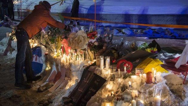 """Quebec-Mörder """"ist ein rechter Ultra-Nationalist"""" (Bild: AP)"""