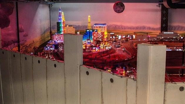 Hamburger Miniatur-Wunderland mauert Las Vegas ein (Bild: facebook.com/Miniatur Wunderland)