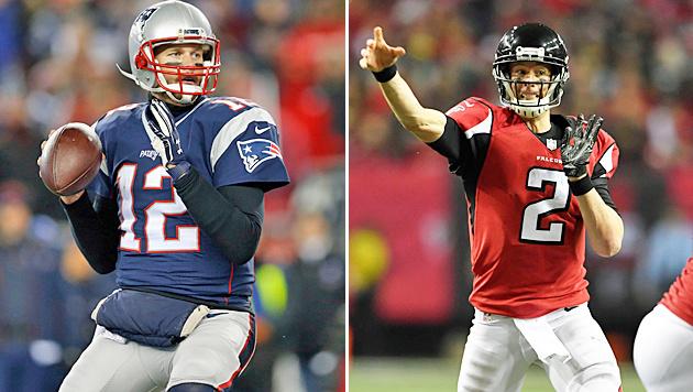 Altmeister Brady (links) will es Herausforderer Ryan zeigen. (Bild: GEPA)