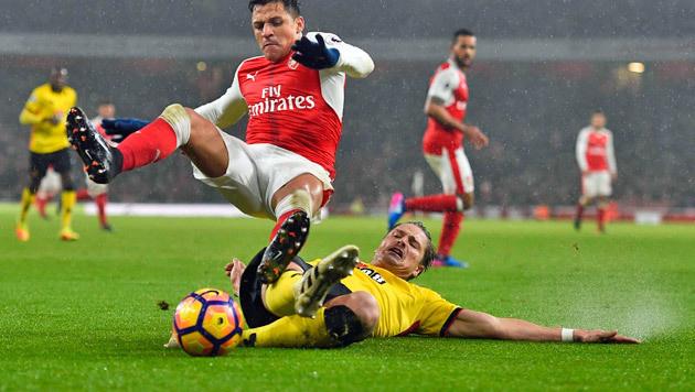 Sensationell! Prödl und Watford hebeln Arsenal aus (Bild: EPA)
