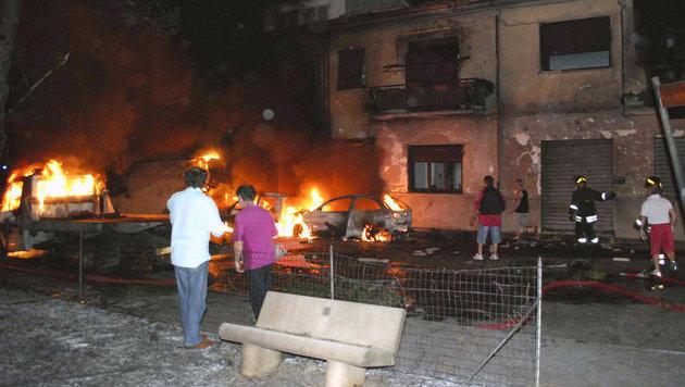Zugunglück in Italien: 2 Österreicher verurteilt (Bild: AFP)