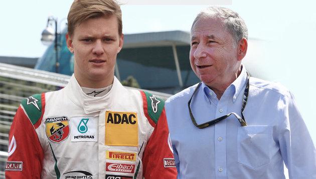 Todt sorgt sich um Zukunft von Schumacher-Sohn (Bild: GEPA, dpa)