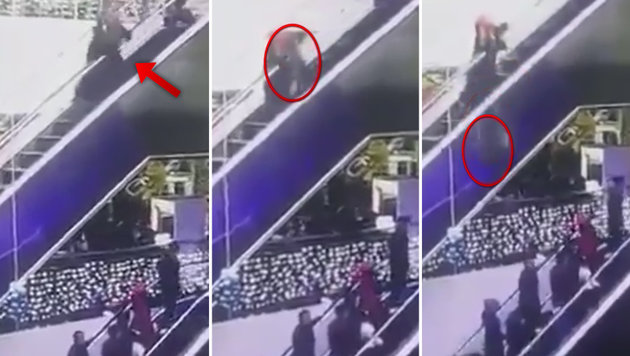 Mutter stolpert: Baby stürzt 12 Meter in den Tod (Bild: YouTube.com)