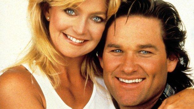 """Goldie Hawn und Kurt Russell in """"Overboard - Ein Goldfisch fällt ins Wasser"""" (Bild: Moviestore Collection/face to fa)"""
