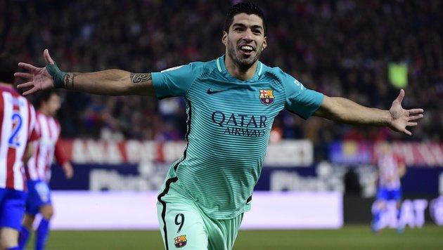 Barcelona gewinnt Halbfinal-Hinspiel bei Atletico (Bild: AFP)