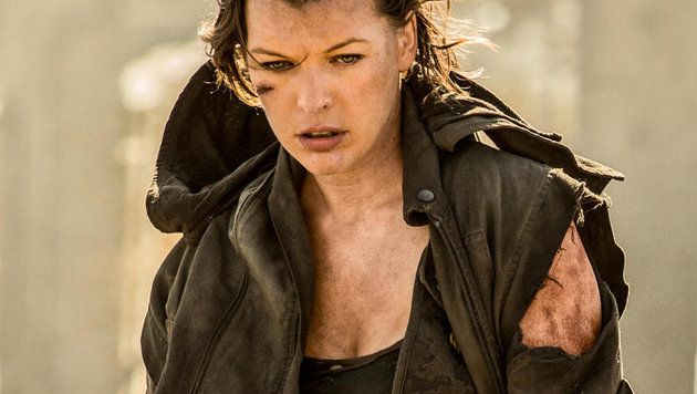 "Milla Jovovich in ""Resident Evil: The final Chapter"" (Bild: CapFSD/face to face)"