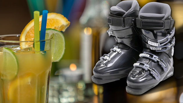 Skischuh-Tritt in den Schritt - schwer verletzt! (Bild: thinkstockphotos.de)