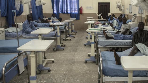 Südafrika: 94 Patienten nach Verlegung gestorben (Bild: AFP (Symbolbild))