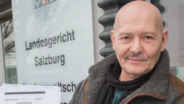 Wilhelm Wallner will kämpfen. (Bild: Neumayr/MMV)